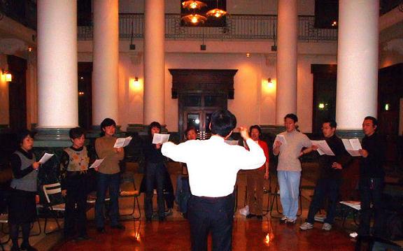 2002年12月21日鞘堂ホール