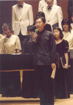 ジョイントコンサートでの高橋先生